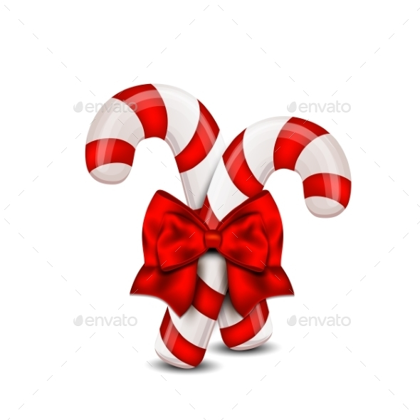 Christmas Candy Cane - Christmas Seasons/Holidays