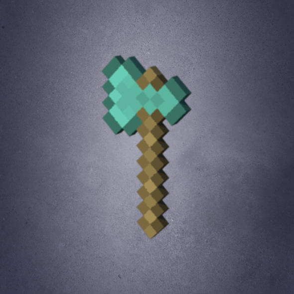 Minecraft Axe By Clint1206 3docean If you are looking for the best 1.16 minecraft axe, you have come to the right video. minecraft axe