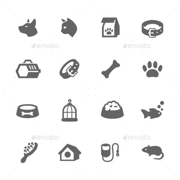 Simple Pets Icons - Icons