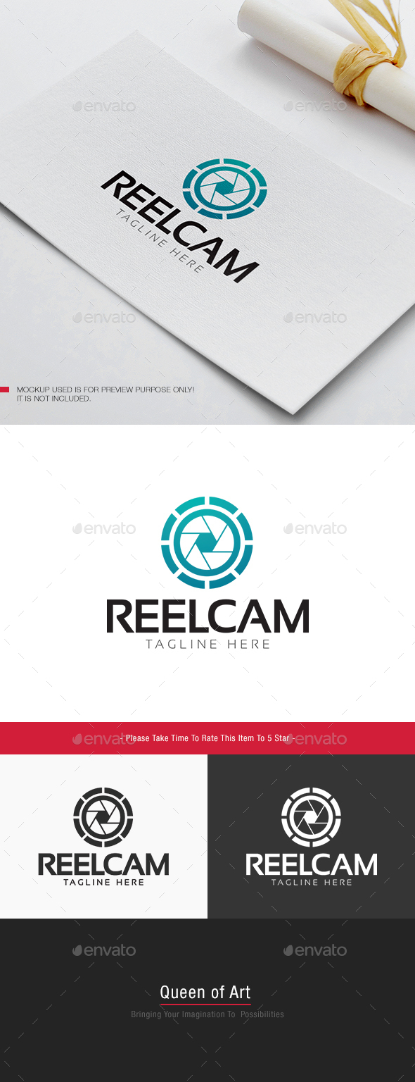 Reel Cam Logo - Objects Logo Templates