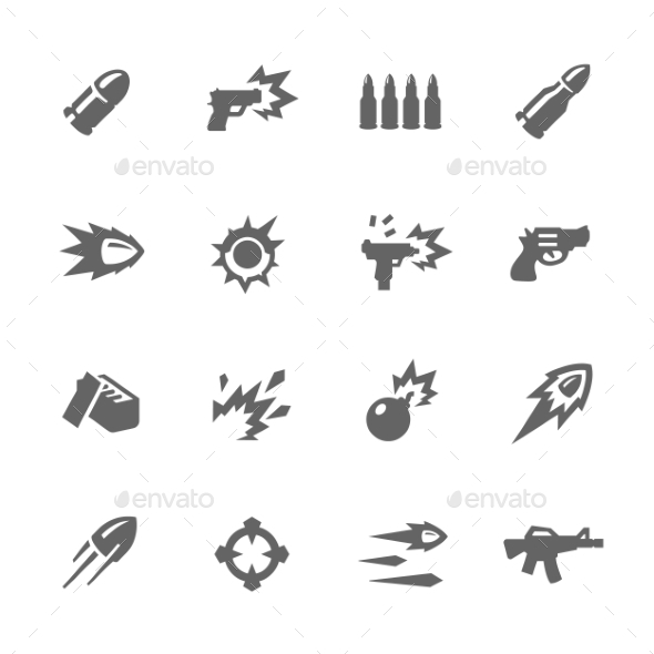 Simple Weapon Icons - Icons