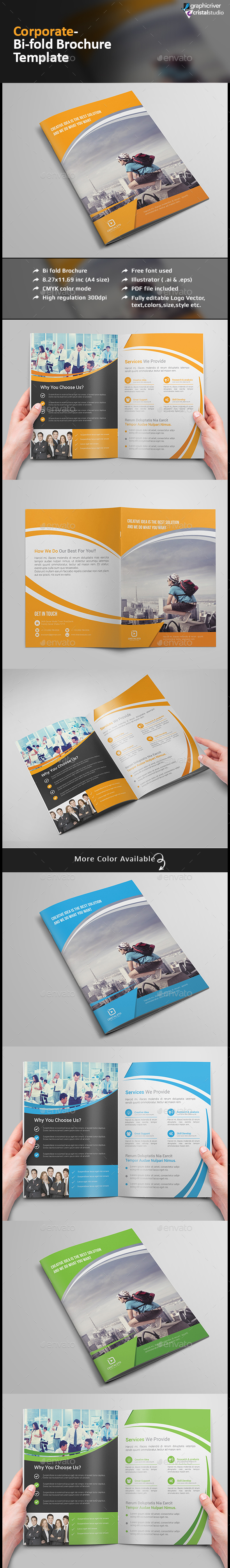 Bi-fold Brochure-Multipurpose - Corporate Brochures