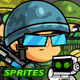 Soldiers 2D Game Character SpriteSheets 04 - GraphicRiver Item for Sale