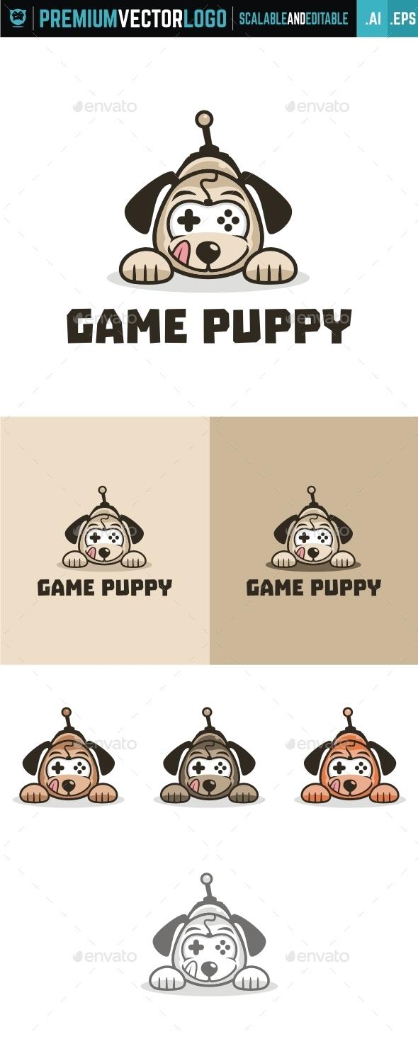 Game Puppy - Animals Logo Templates