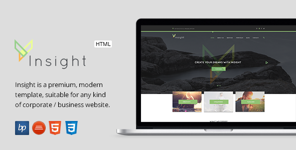 Insight - Responsive Business HTML5 Template