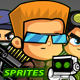 Soldiers 2D Game Character SpriteSheets 05 - GraphicRiver Item for Sale
