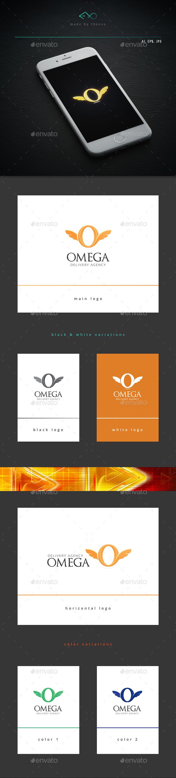 Omega - Letters Logo Templates