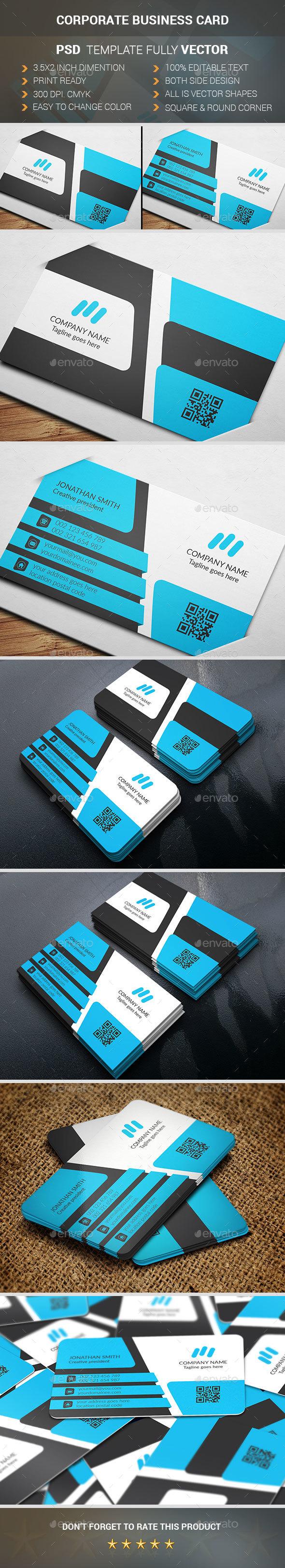 Corporate Busniess Card - Corporate Business Cards