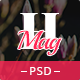 HealthMag - News & Magazine PSD Template Nulled