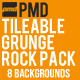 8 Tileable Grunge Rock Backgrounds - GraphicRiver Item for Sale