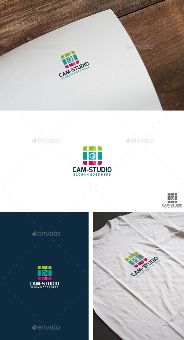Camera Studio Logo - Abstract Logo Templates