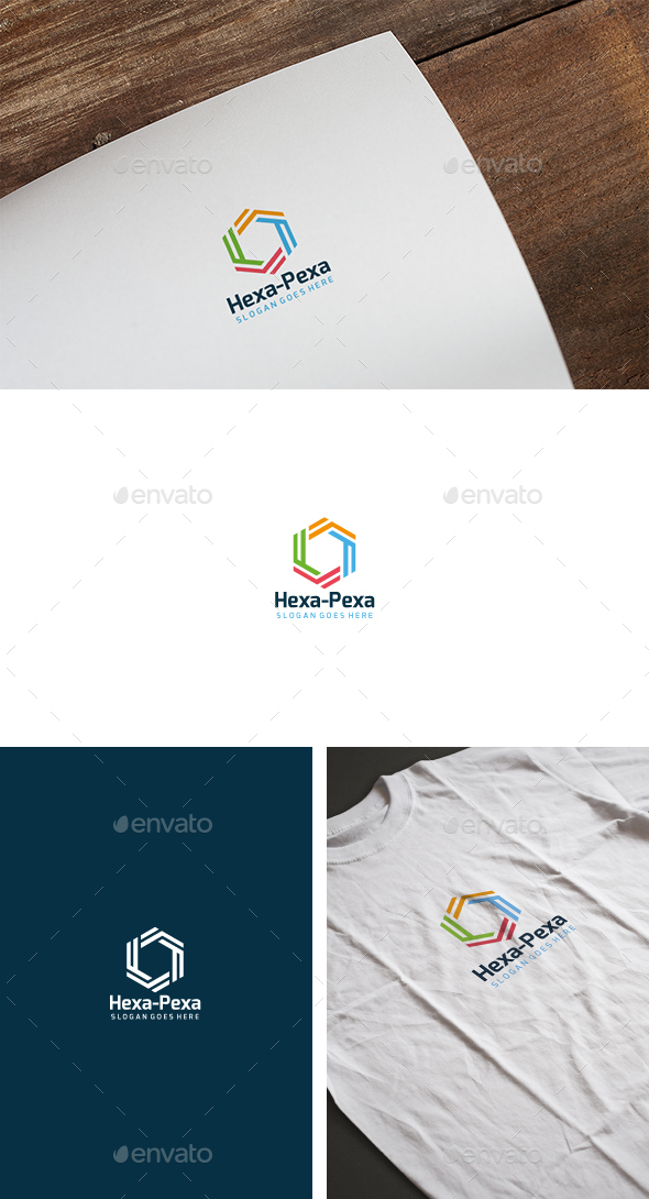 Hexa Photography Logo - Abstract Logo Templates