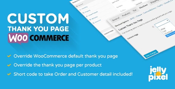 Custom Thank You Page for WooCommerce - CodeCanyon Item for Sale