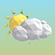 Weather Forecast Lowpoly Icons - VideoHive Item for Sale