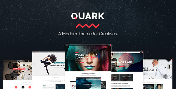 Quark – A Modern Theme for Creatives