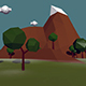 Low Poly Terrain - 3DOcean Item for Sale