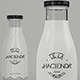 Milk Bottle - Premium Mockup - GraphicRiver Item for Sale