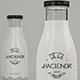 Milk Bottle - Premium Mockup - GraphicRiver Item for Sale