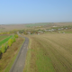 Flying Above Road and Fields - VideoHive Item for Sale
