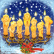 Seven magical Christmas candle - GraphicRiver Item for Sale