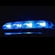 Police Car Emergency Vehicle in City at Night - VideoHive Item for Sale