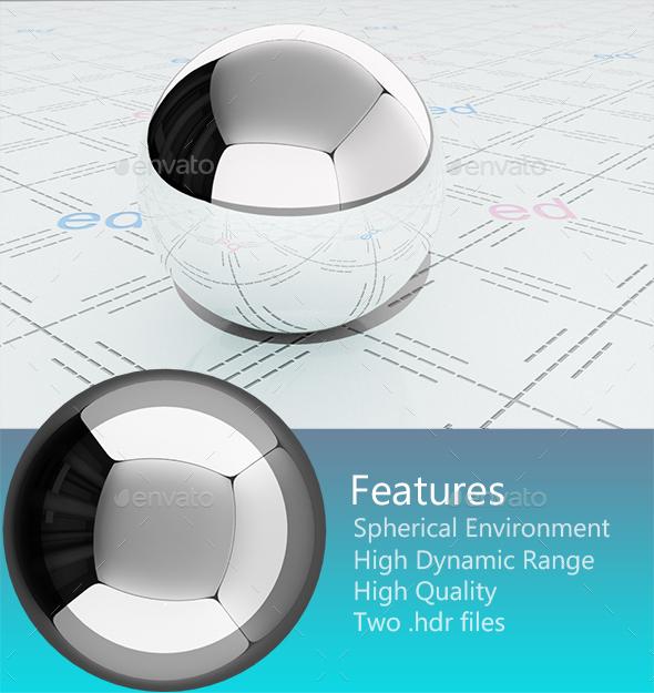 Studio HDRi 003 - 3DOcean Item for Sale