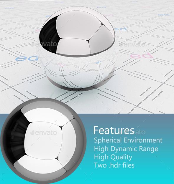 Studio HDRi 004 - 3DOcean Item for Sale