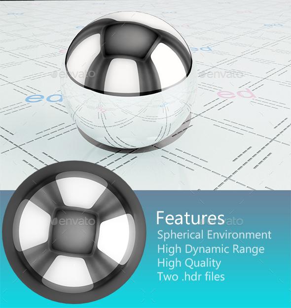Studio HDRi 007 - 3DOcean Item for Sale