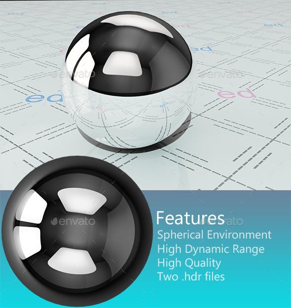 Studio HDRi 010 - 3DOcean Item for Sale