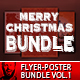 2017 Christmas Party Flyer/Poster Bundle Vol.1 - GraphicRiver Item for Sale