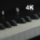 Panorama Of The Piano Keyboard - VideoHive Item for Sale