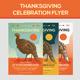 Thanksgiving Event Celebration Flyer - GraphicRiver Item for Sale