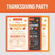 Thanksgiving Party - GraphicRiver Item for Sale