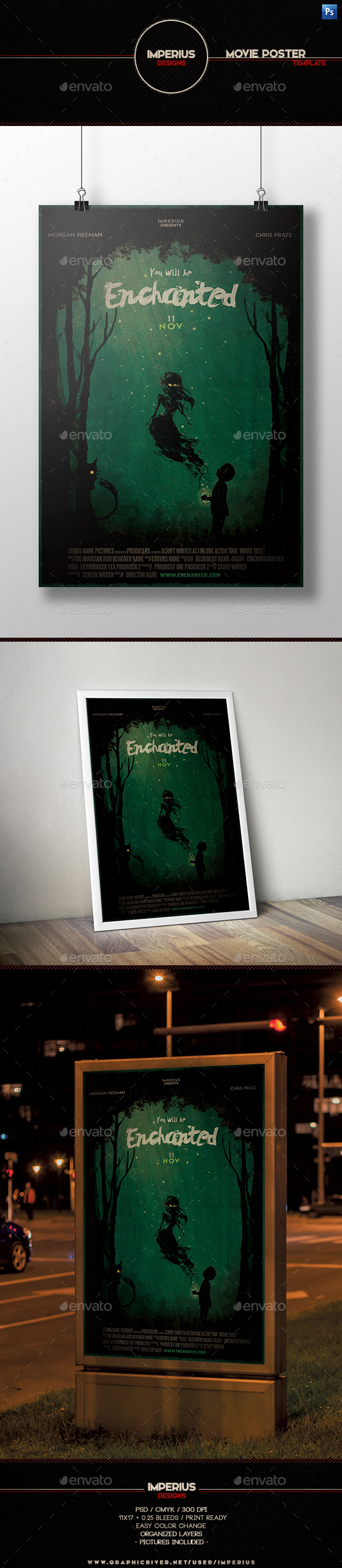 Enchanted Movie Poster - Miscellaneous Events