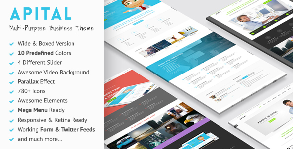 Apital – Ultra Premium Business WordPress Theme