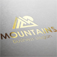 Mountains Peak Logo - GraphicRiver Item for Sale