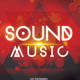 Sound Music - PSD Party Flyer - GraphicRiver Item for Sale