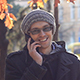 Young Man Talking On The Phone In The Park - VideoHive Item for Sale