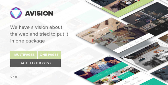 Avision – MultiPurpose Drupal Theme