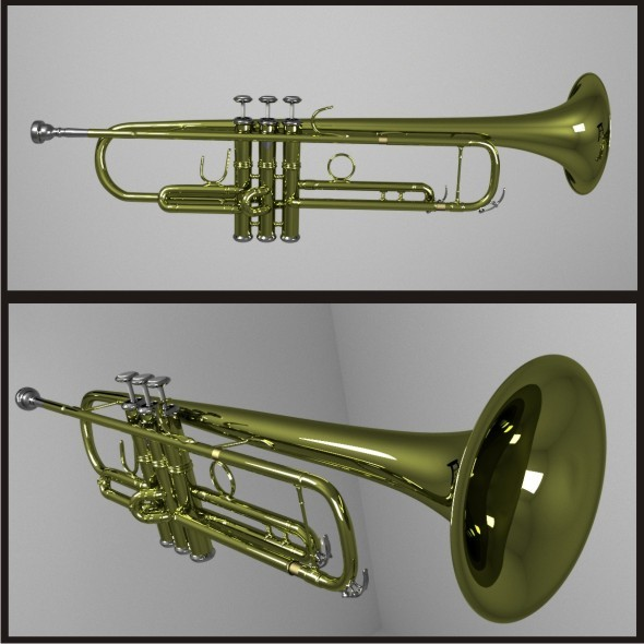 Trumpet - 3DOcean Item for Sale