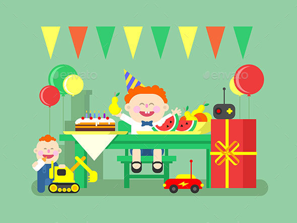 Holiday Child Birthday - Birthdays Seasons/Holidays