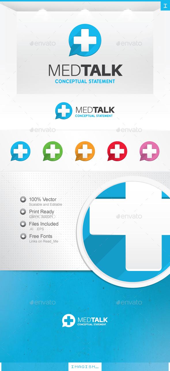 Med Talk Logo - Symbols Logo Templates