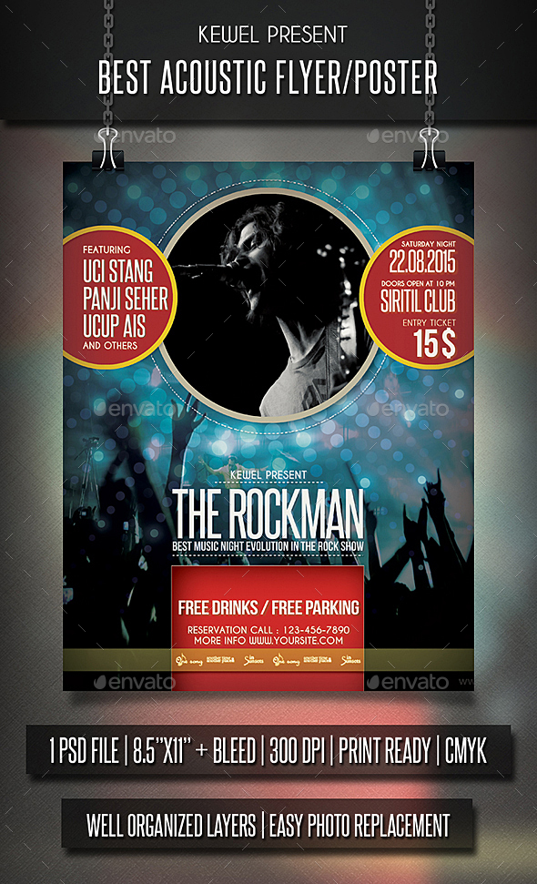 Rock Flyer / Poster - Events Flyers