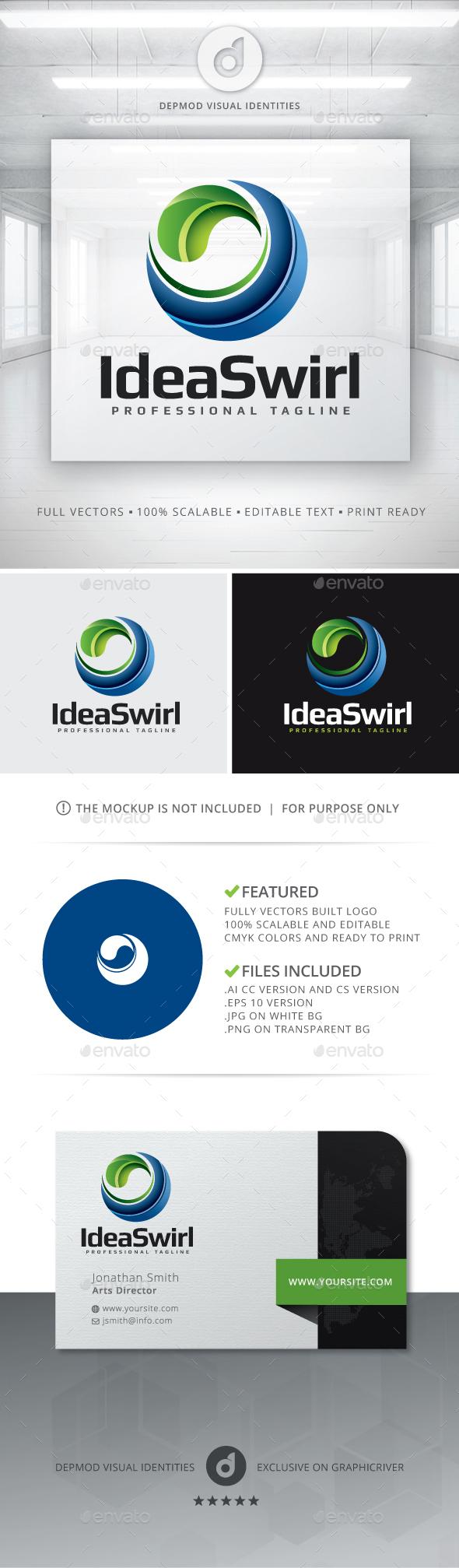 Idea Swirl Logo - Symbols Logo Templates