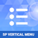SP Vertical Menu - Responsive Module