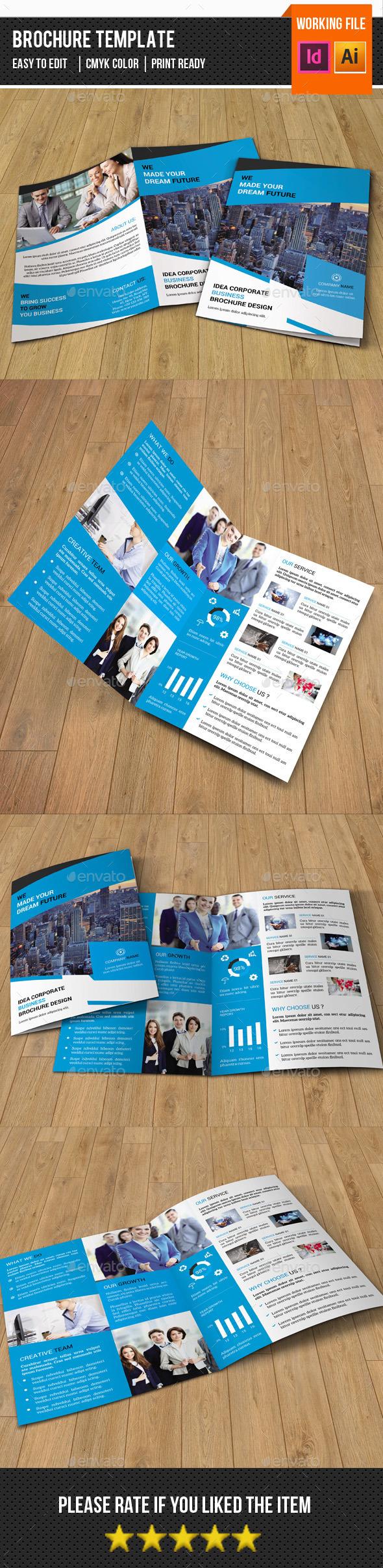 Corporate Bifold Brochure-V319 - Corporate Brochures
