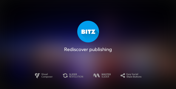 Bitz - News & Publishing Theme - News / Editorial Blog / Magazine