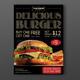 Vintage Burger Menu Flyer - GraphicRiver Item for Sale