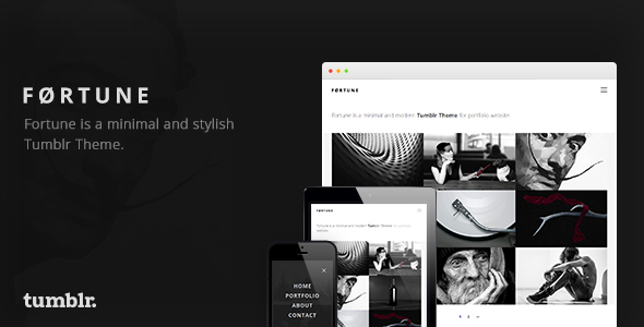 Fortune – Portfolio Tumblr Theme