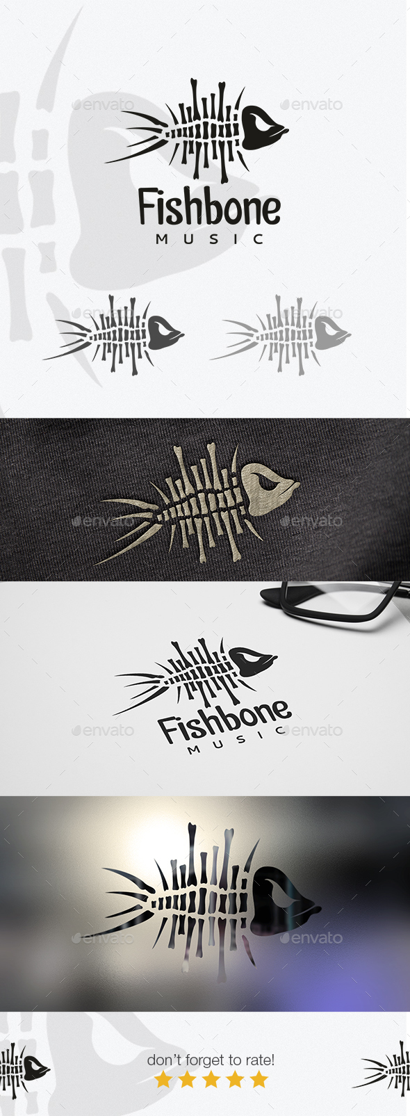 Fishbone - Logo Templates